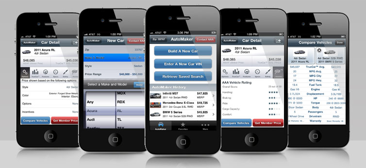 AAA Auto Buying Tools App Screen Shot