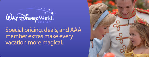 AAA specializes in Disney World package deals by a Disney Vacation Planner. Get Disney vacation package specials online, at a AAA branch or by phone. buy AAA discounted Walt Disney World ® Resort tickets now. Valid for the number of Guests in the package, unless otherwise specified. All dining discounts exclude applicable tax and.