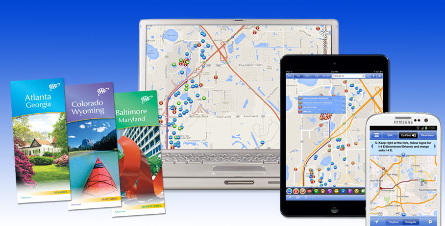 AAA Travel Information Services – Travel Planning Map