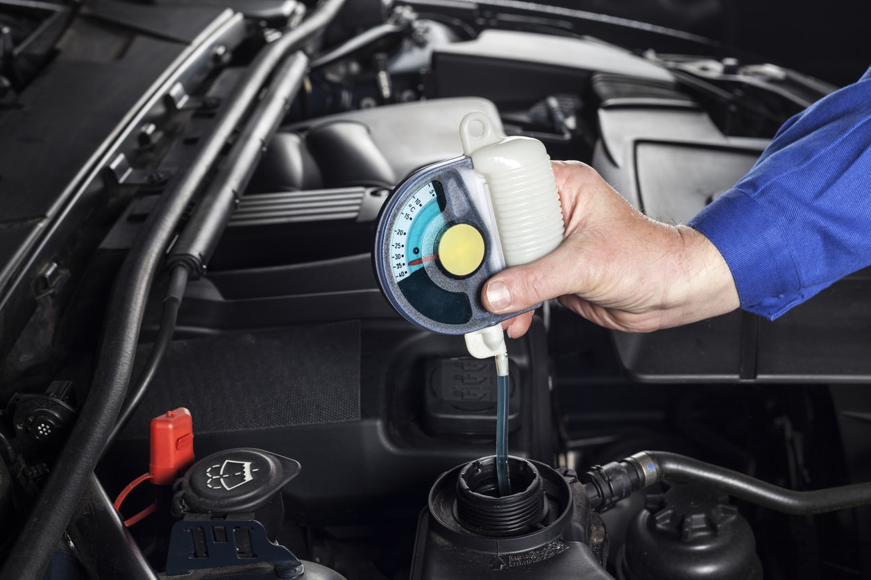 Quick tips for checking vehicle fluids
