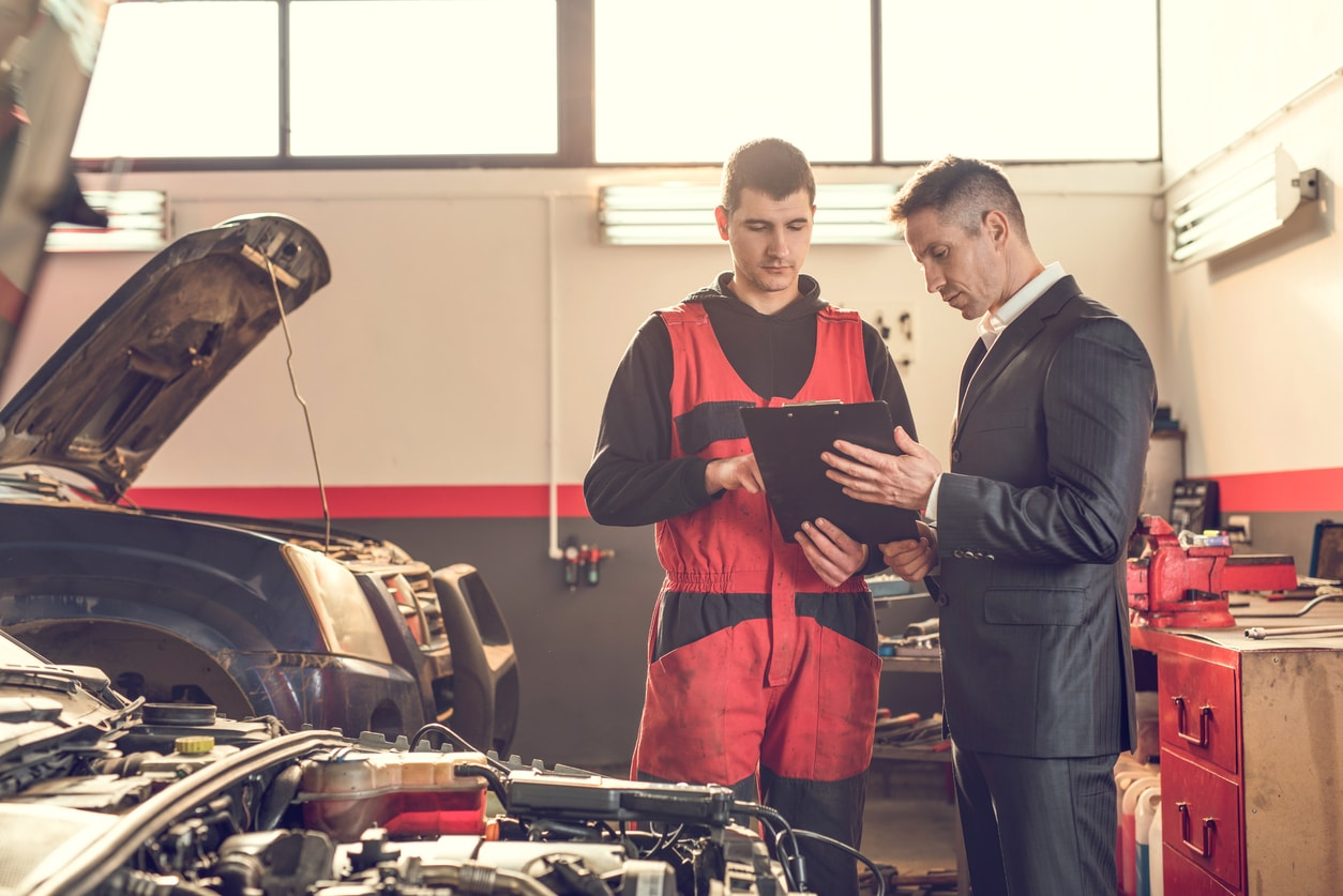 Maintenance and repair of motor vehicles: a selection of articles