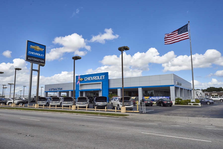 Autonation Chevrolet West Colonial Orlando Fl Aaa Approved Auto Repair Facility